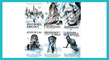Mistborn Series Banner