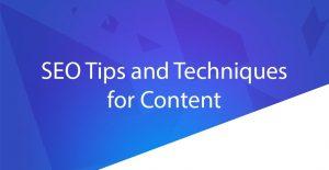 SEO Content Blog